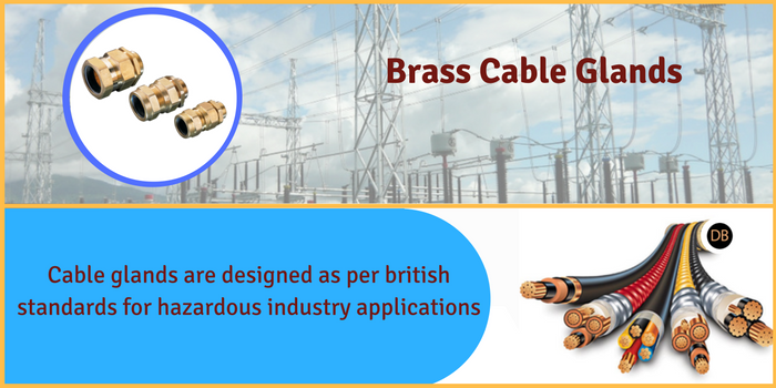 Brass cable glands manufacturers India